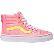 Vans Kids' Grade School Sk8-Hi Zip Glitter Shoes