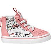 Vans Kids' Grade School Puppicorns SK8-Hi Zip Shoes
