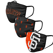 FOCO Adult San Francisco Giants 3-Pack Face Coverings