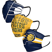 FOCO Adult Indiana Pacers 3-Pack Matchday Face Coverings