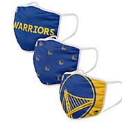 FOCO Adult Golden State Warriors 3-Pack Face Coverings