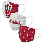 FOCO Adult Indiana Hoosiers 3-Pack Face Coverings