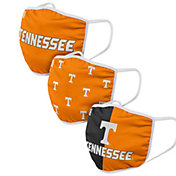 FOCO Adult Tennessee Volunteers 3-Pack Face Coverings