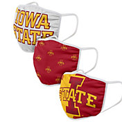 FOCO Adult Iowa State Cyclones 3-Pack Face Coverings