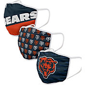 FOCO Adult Chicago Bears 3-Pack Facemasks