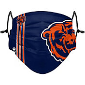 FOCO Adult Chicago Bears On-Field Sideline Adjustable Face Covering