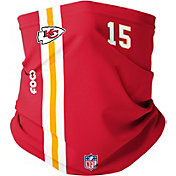 FOCO Adult Kansas City Chiefs Patrick Mahomes #15 On-Field Stripe Neck Gaiter