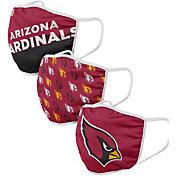 FOCO Adult Arizona Cardinals 3-Pack Face Masks