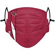 FOCO Adult Arizona Cardinals On-Field Sideline Stripe Adjustable Face Covering