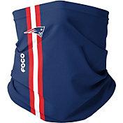 FOCO New England Patriots On-Field Sideline Stripe Neck Gaiter