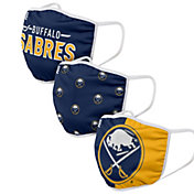 FOCO Adult Buffalo Sabres 3-Pack Face Coverings