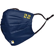 FOCO Adult Milwaukee Brewers Christian Yelich Face Covering