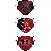 FOCO Youth Arizona Diamondbacks 3-Pack Face Coverings
