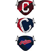 FOCO Youth Cleveland Indians 3-Pack Face Coverings