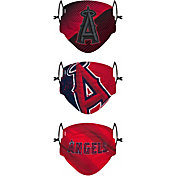 FOCO Youth Los Angeles Angels 3-Pack Face Coverings