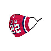 FOCO Adult Washington Nationals Juan Soto 3-Pack Face Coverings