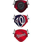 FOCO Youth Washington Nationals 3-Pack Face Coverings