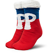 FOCO Philadelphia Phillies Cozy Footy Slippers