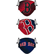 FOCO Youth Boston Red Sox 3-Pack Face Coverings
