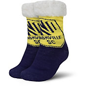 FOCO Nashville SC Cozy Footy Slippers
