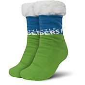 FOCO Seattle Sounders Cozy Footy Slippers