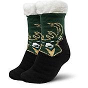 FOCO Milwaukee Bucks Cozy Footy Slippers