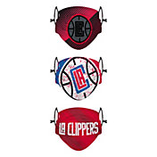 FOCO Youth Los Angeles Clippers 3-Pack Face Coverings