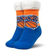 FOCO New York Knicks Cozy Footy Slippers