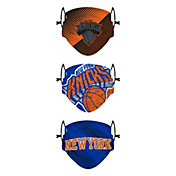 FOCO Youth New York Knicks 3-Pack Face Coverings