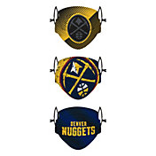 FOCO Youth Denver Nuggets 3-Pack Face Coverings