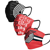 FOCO Adult Portland Trail Blazers 3-Pack Face Coverings