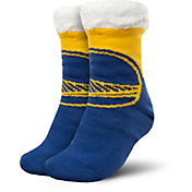 FOCO Golden State Warriors Cozy Footy Slippers