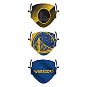 FOCO Youth Golden State Warriors 3-Pack Face Coverings