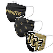 FOCO Youth UCF Knights 3-Pack Face Coverings