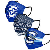 FOCO Adult Creighton Bluejays 3-Pack Face Coverings