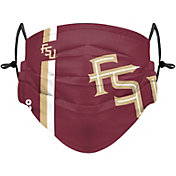 FOCO Adult Florida State Seminoles On-Field Sideline Adjustable Face Covering