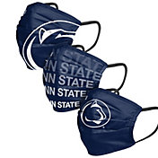 FOCO Adult Penn State Nittany Lions 3-Pack Matchday Face Coverings