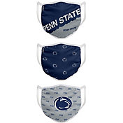 FOCO Youth Penn State Nittany Lions 3-Pack Face Coverings