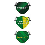 FOCO Youth Oregon Ducks 3-Pack Face Coverings