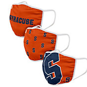 FOCO Youth Syracuse Orange 3-Pack Face Coverings