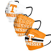 FOCO Adult Tennessee Volunteers 3-Pack Matchday Face Coverings