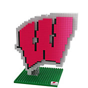 FOCO Wisconsin Badgers BRXLZ 3D Puzzle