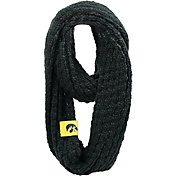 FOCO Iowa Hawkeyes Cable Knit Infinity Scarf