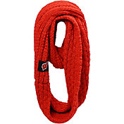 FOCO Wisconsin Badgers Cable Knit Infinity Scarf
