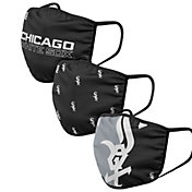 FOCO Youth Chicago White Sox 3-Pack Face Coverings