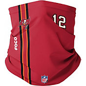 FOCO Youth Tampa Bay Buccaneers Tom Brady #12 On-Field Stripe Neck Gaiter