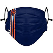 FOCO Youth Chicago Bears On-Field Sideline Stripe Adjustable Face Covering