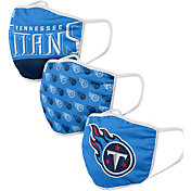 FOCO Youth Tennessee Titans 3-Pack Face Masks