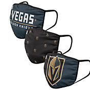 FOCO Youth Vegas Golden Knights 3-Pack Facemasks