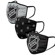 FOCO Youth NHL 3-Pack Facemasks
